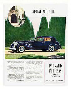 1938 Packard ad