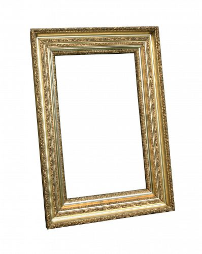 Gilt Frame With Mirror