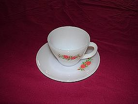 Fire King cup and saucer