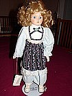 Heritage Mint Porcelain Doll