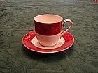 Noritake Ruby Garland cup and saucer