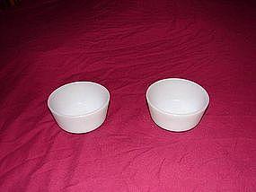 Fire King Custard Bowls