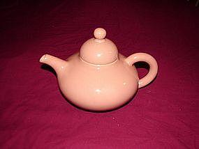 Pink Fransican Teapot