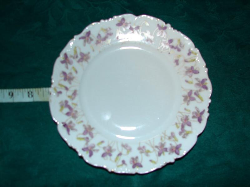 Tressemann & Vogt china bread n butter plates