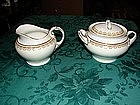 H & C co. Selb Bavaria  Cream and Sugar set