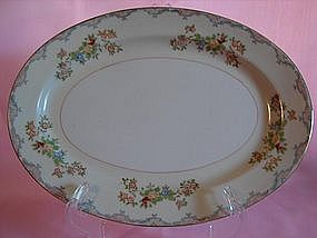 Mayfair china oval serving platter