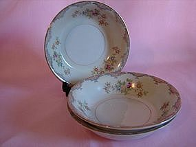 Mayfair china fruit n dessert bowls