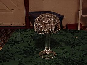 Shannon crystal candle lamp