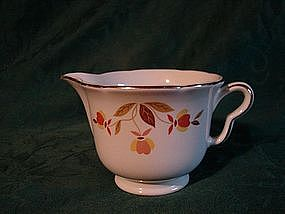 Hall Autumn Leaf Creamer