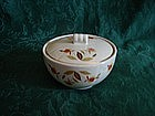 Hall Autumn Leaf lidded bowl