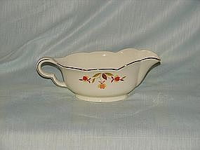 Hall Jewel Tea autumn Leaf Gravy Boat