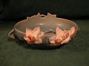 Roseville Blue Magnolia bowl