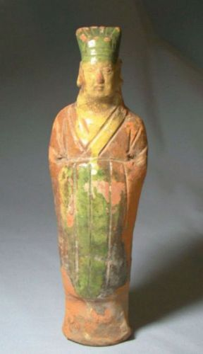 Chinese Song Dynasty Terracotta Attendant