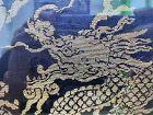 Chinese 19th Century Dragon Brocade Panel