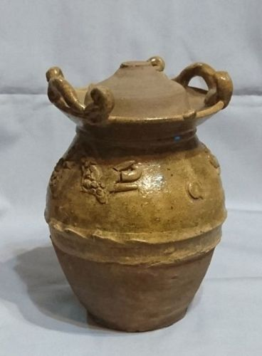 Chinese Song Dynasty Jar with Lid