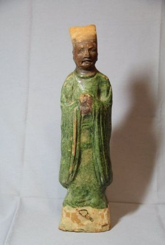 Large Chinese Song Dynasty Terracotta Attendant