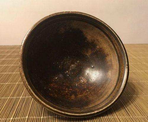 Chinese Song Dynasty Jizhou Brown Glaze Tea Bowl