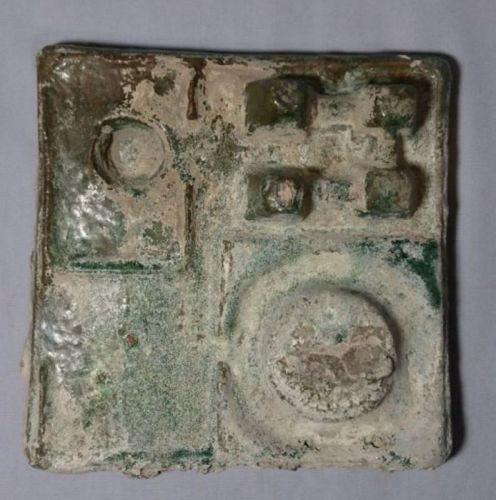 Chinese Han Dynasty Lead Green Glaze Pottery Workshop