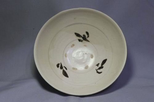 Chinese Song Dynasty Cizhou White Glaze Big Bowl