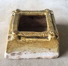 Chinese Tang Dynasty Yellow Glaze Square Well