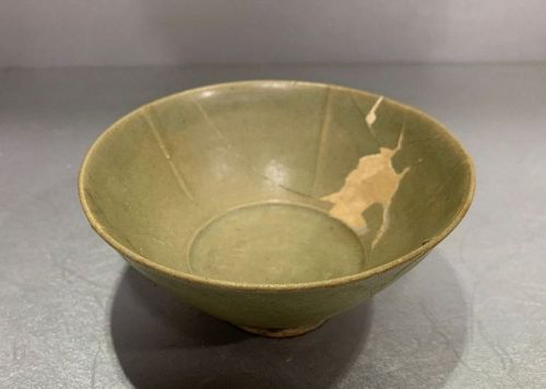 Chinese Northern Song Dynasty Yaozhou Celadon Bowl (Sample)