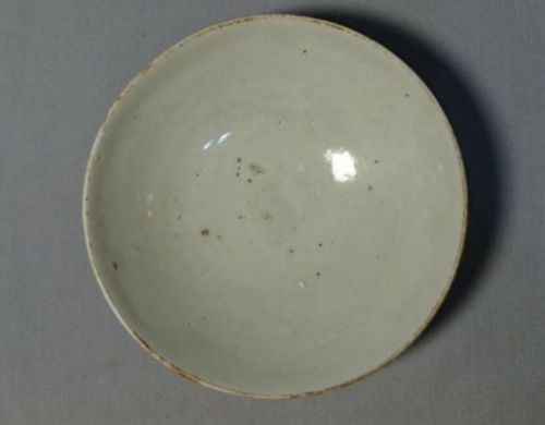 Chinese Five Dynasties White Glaze Shallow Bowl