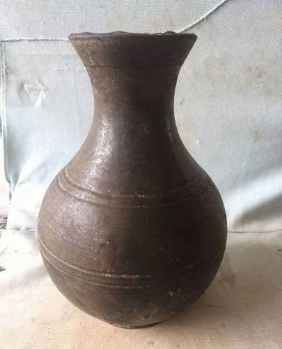 Chinese Han Dynasty Pottery Tianqiuping Vase