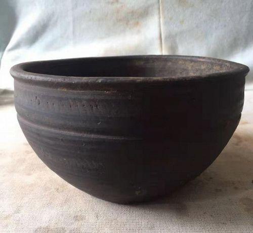 Chinese Han Dynasty Pottery Basin