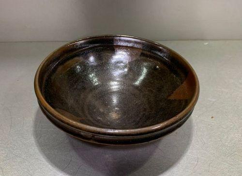 Chinese Jin to Yuan Dynasty Black Glaze Bowl