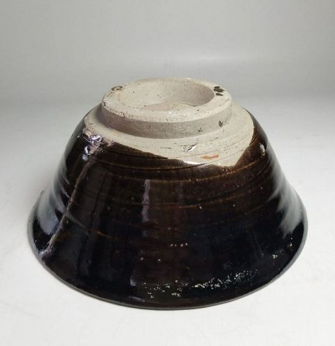 Chinese Song to Yuan Dynasty Black Glaze Bowl
