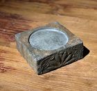 Chinese Southern and Northern Dynasties Lotus Inkstone Brick