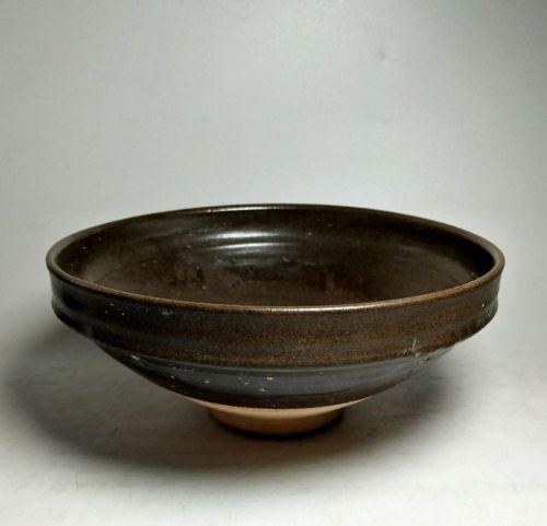 Chinese Yuan Dynasty Tea Dust Glaze Bowl
