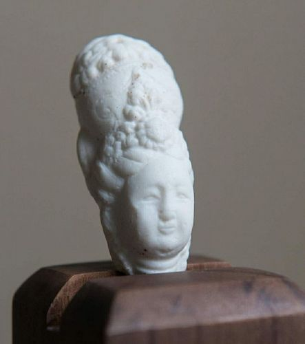 Chinese Northern Song Dynasty Ding ware Buddha Head