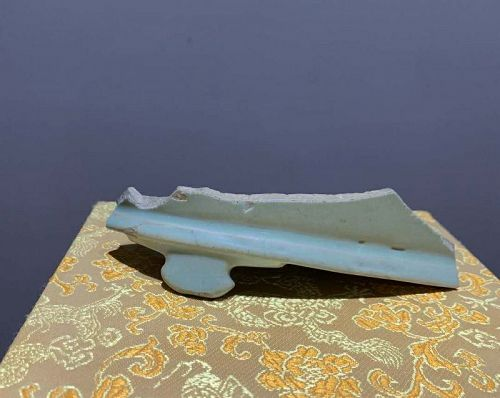 Chinese Northern Song Dynasty Imperial Ru Ware Shard