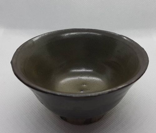 Chinese Qing Dynasty Tea Dust Glaze Bowl