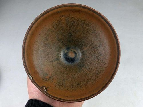 Chinese Song Dynasty Jian Type Temmoku Tea Bowl