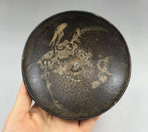Chinese Song Dynasty Jizhou Painted Tea Bowl