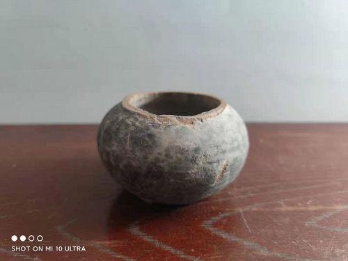 Neolithic Chinese Liangzhu Pottery Pot