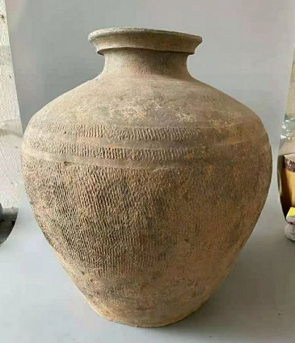 Chinese Warring States Pottery Pot