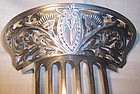Fabulous Sterling Hair Pin Comb Dominick & Haff 1879