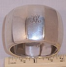 Fine Antique Heavy Tiffany Sterling Silver Napkin Ring
