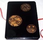 Antique Meiji Japanese Lacquer Box