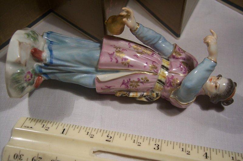 Fine German Meissen Porcelain Chinoiserie Figurine