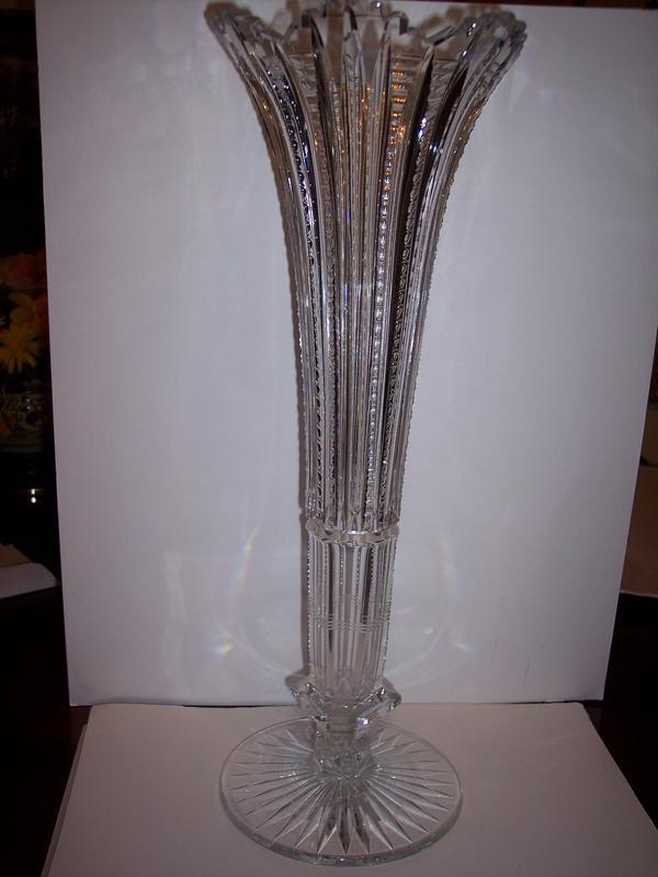 Antiques Decorative Art Glass American Cut Glass Trocadero