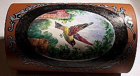 Beautiful Antique Wedgwood Rosso Antico Spill Vase
