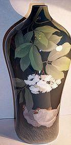 Royal Copenhagen Vase Japanese Studio Porcelain Style