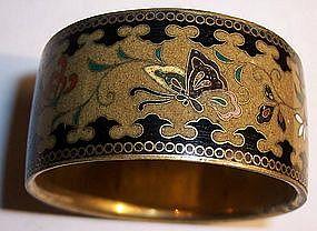 Namikawa Yasuyuki Japanese Cloisonne Napkin Ring