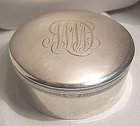 Simply Elegant Fine Early Tiffany Sterling Box c. 1891
