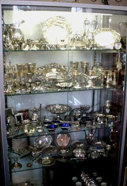STERLING SILVER ANTIQUE & ESTATE PIECES