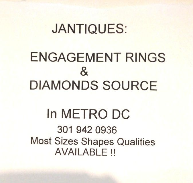 BEAUTIFUL HALF CARAT EUROPEAN CUT DIAMOND ENGAGEMENT RING